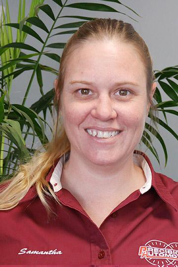 Samantha - Service Advisor