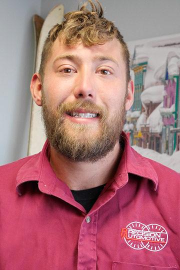 Andrew- Apprentice Technician
